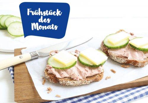 Leberwurst, Gurke & Bergkäse